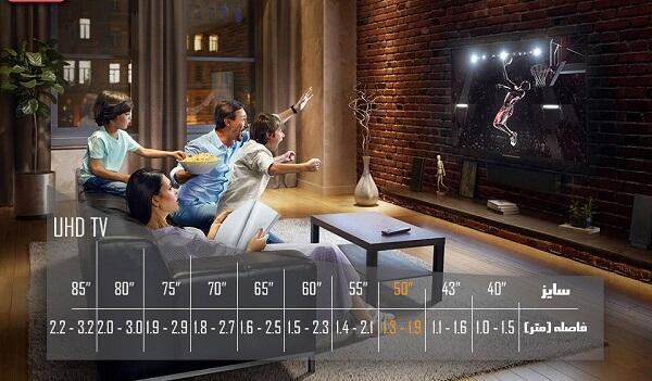 تلویزیون ال ای دی هوشمند سامسونگ مدل 50NU7900
