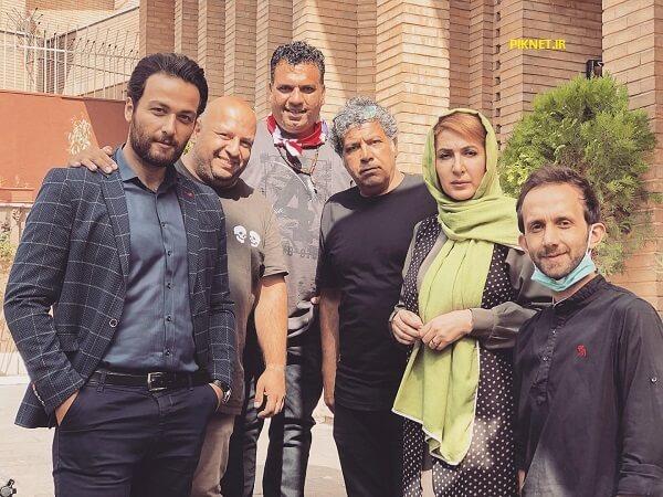 میلاد میرزایی بازیگر سریال شرم