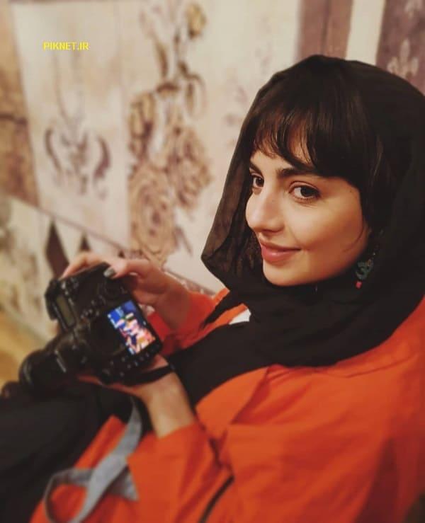 عکس های مهشید جوادی بازیگر سریال بیگانه ای با من است