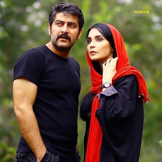 سامرند معروفی و همسرش مهدیه نساج
