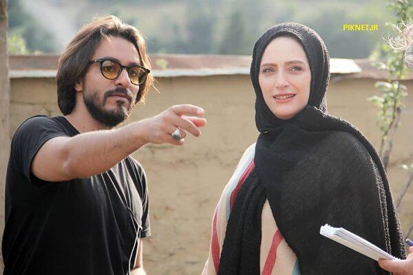 امین امانی و همسرش نگین معتضدی
