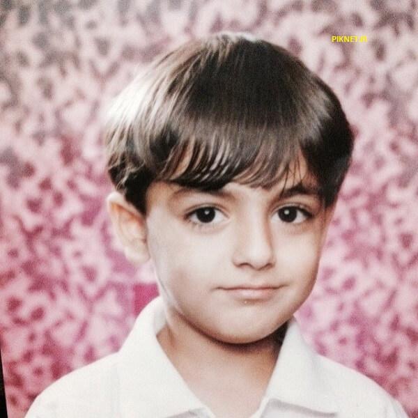 عکس دوران کودکی محمدرضا رهبری