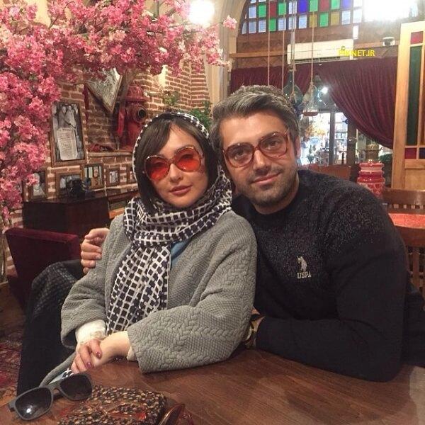 محمدرضا رهبری و همسرش ندا دیبا