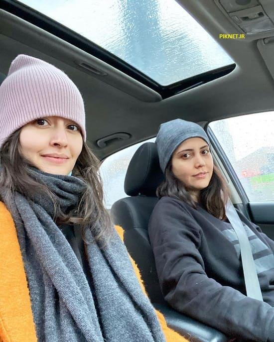 پردیس احمدیه و دوستش