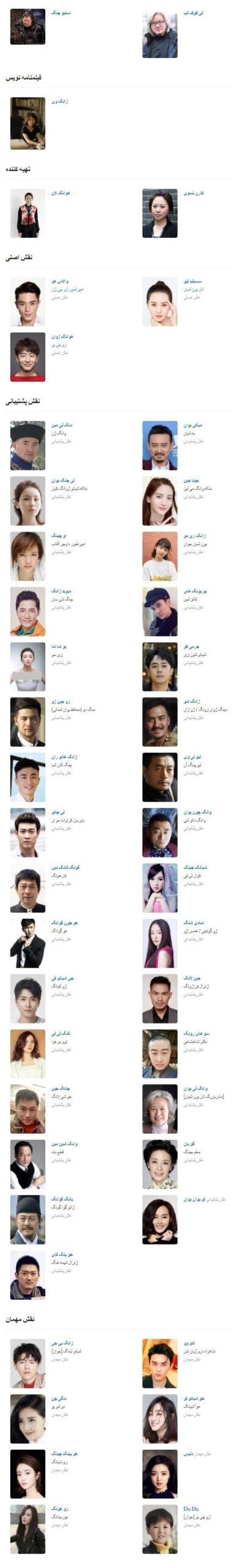 بازیگران سریال پزشک دربار
