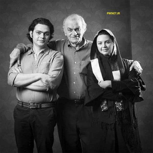 فتحعلی اویسی با پسر و دخترش