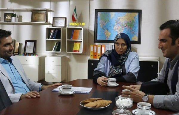 بازیگران سریال تنها در تهران